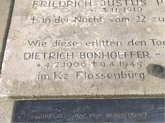 Bonhoeffer's Memorial