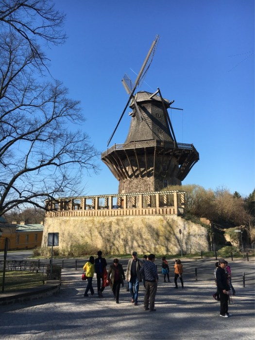 The Windmill for flour milling designed from Dutch practice.