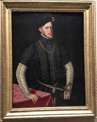 Anthonis Mor, Portrait of Phillip II, C.1549-1550