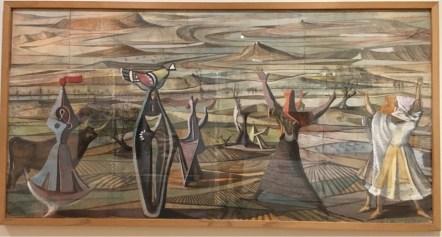 Alberto Sanchez, Figures and Landscape, c.1960-1962