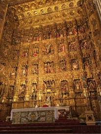 Saville Cathedral - the main Alter piece
