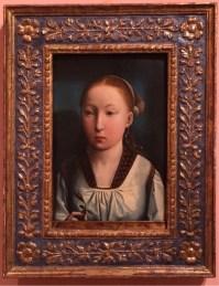 Juan de Flanders, Portrait of an Infanta (Catherine of Aragon?), 1496