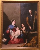 Jose de Ribera, The Holy Family with the young St John the Baptist, 1639