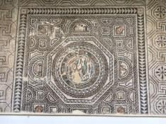 3rd century AD Roman Mosaic in the Santa Cruz Cloisters, found near Toledo