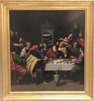Joan de Joanes (1505-1579), The Last Supper.
