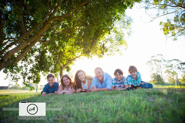 Family Portrait Photographer Brisbane Anna Osetroff