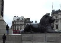 Incorrect lion statues