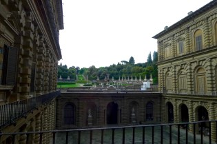 Looking out to Boboli Gardens
