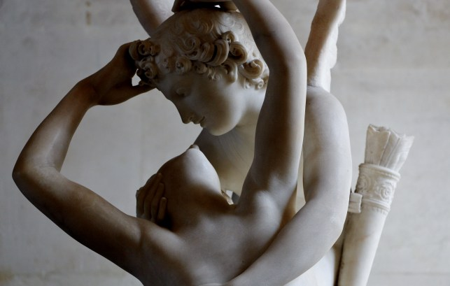 Psyche revived by Cupid's kiss // Psyché ranimée par le baiser de l'Amour