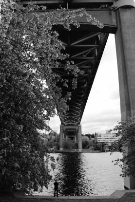Under the bridge // Sous le pont
