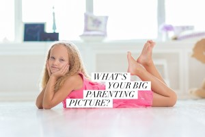 Write your mothering manifesto: finding the big picture of parenting