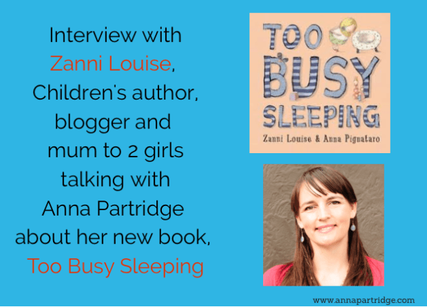 Interview with Zanni Louise, Children's Author