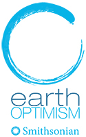 Smithsonian Earth Optimism logo