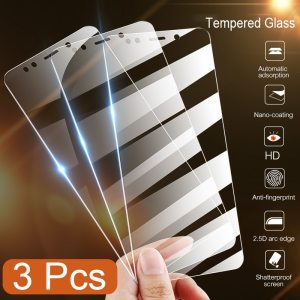 Tempered Glass Screen Protector For Xiaomi 3 Pcs Set
