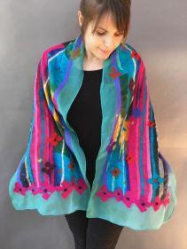 Carol Furtado_nuno felt scarf wool and cotton