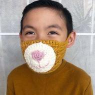 Covid Crochet Mask