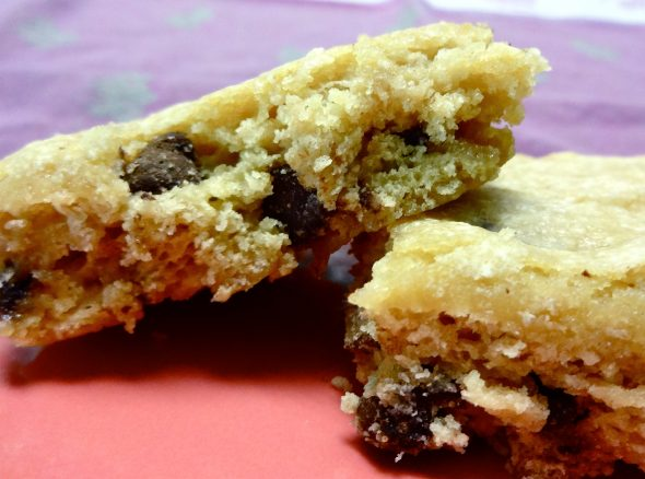 Chocolate Chip Blondies