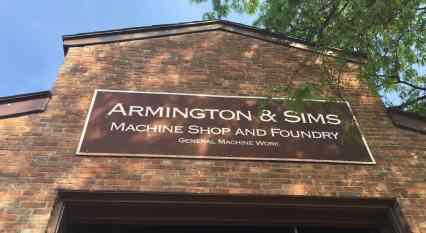 Greenfield Village Armington & Sims Machine Shop