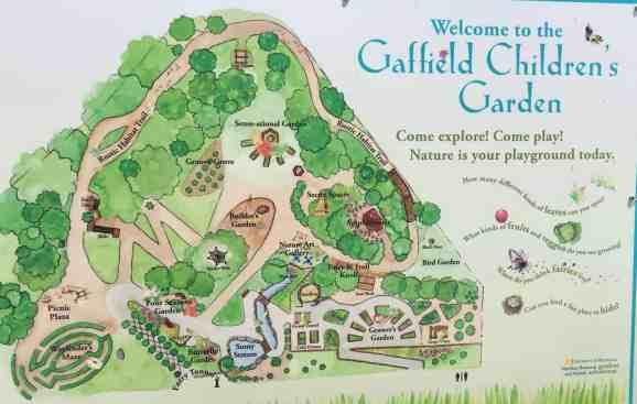 Matthaei Botanical Garden - Children's Garden - Map