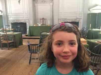 Philadelphia Trip Report - Independence Hall - Singing Room