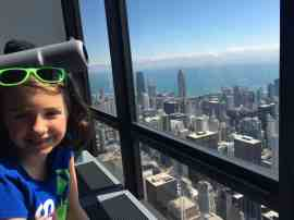 Chicago Trip Report - Sears Tower Selfie