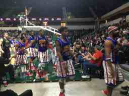 Harlem Globetrotters - Leaving for Halftime
