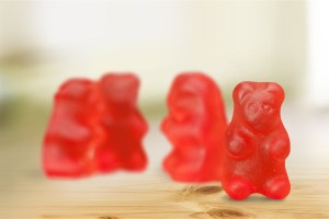 Gummy Bear Rorschach test