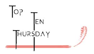 Top Ten Thursday neu
