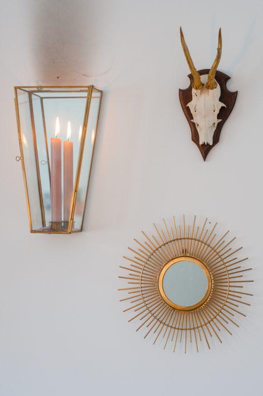Thuisbeeld | Rachel van De Huismuts | Details aan de muur