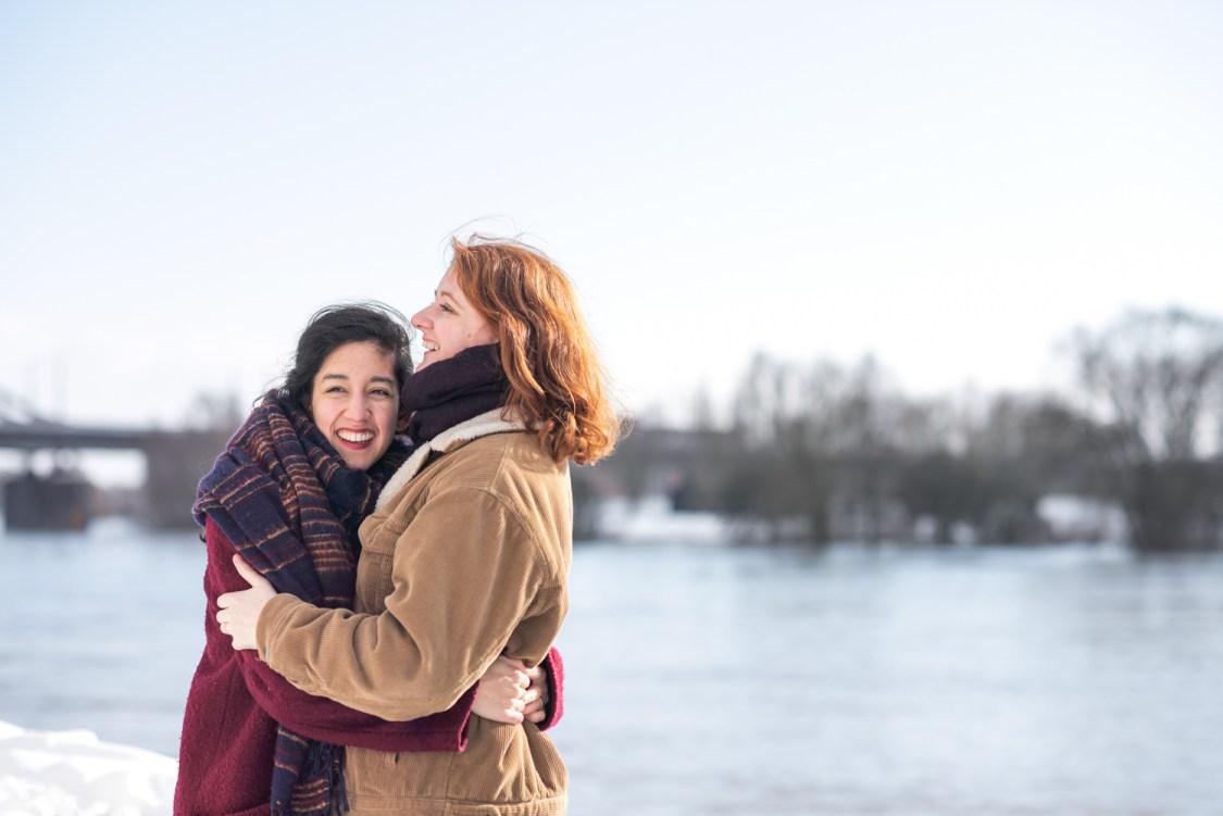Loveshoot in winter - sfeervolle koppelfotografie