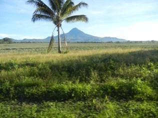 Mt. Matutum from a far.