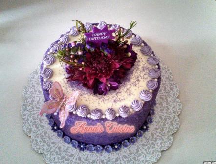 Color Me Purple Cake