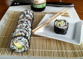 Organic Quinoa, Kale, and Avocado Sushi