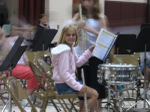 Savannah's first band concert
