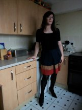 brown skirt not fit