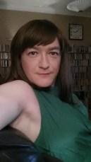 Anna Secret Poet Green Dress Halloween 2015 1