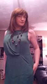 Anna Secret Poet Green Dress Halloween 2015 4