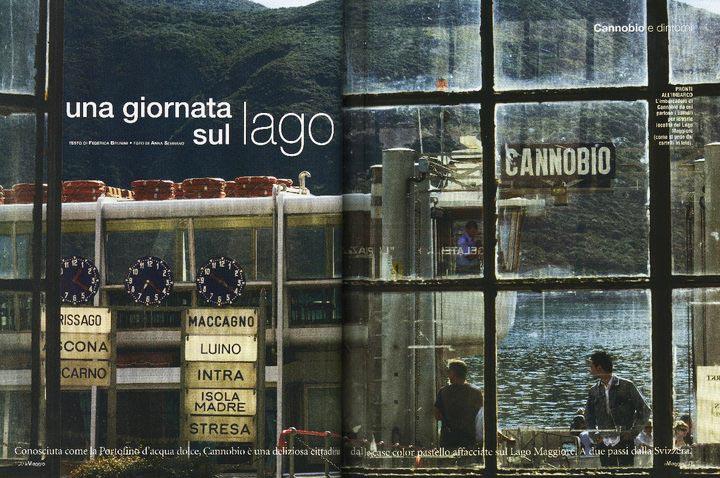 0089-IN VIAGGIO - CANNOBIO - MAGGIORE LAKE ITALY