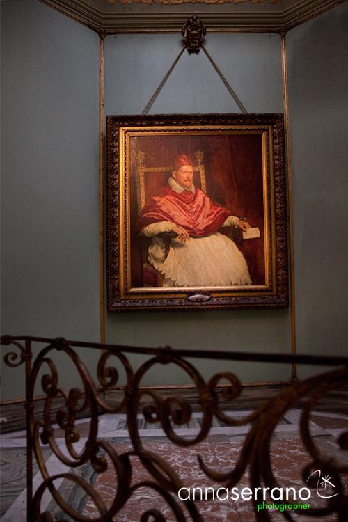 Italy, Latium, Rome, Galleria Doria Pamphilj, Innocenzo X by Diego Velázquez