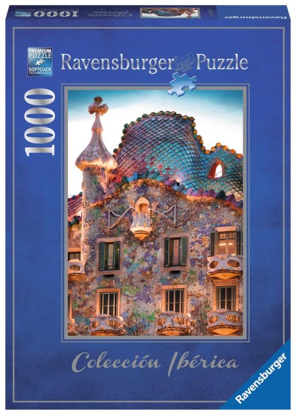 034-RAVENSBURGER PUZZLE- BARCELONA