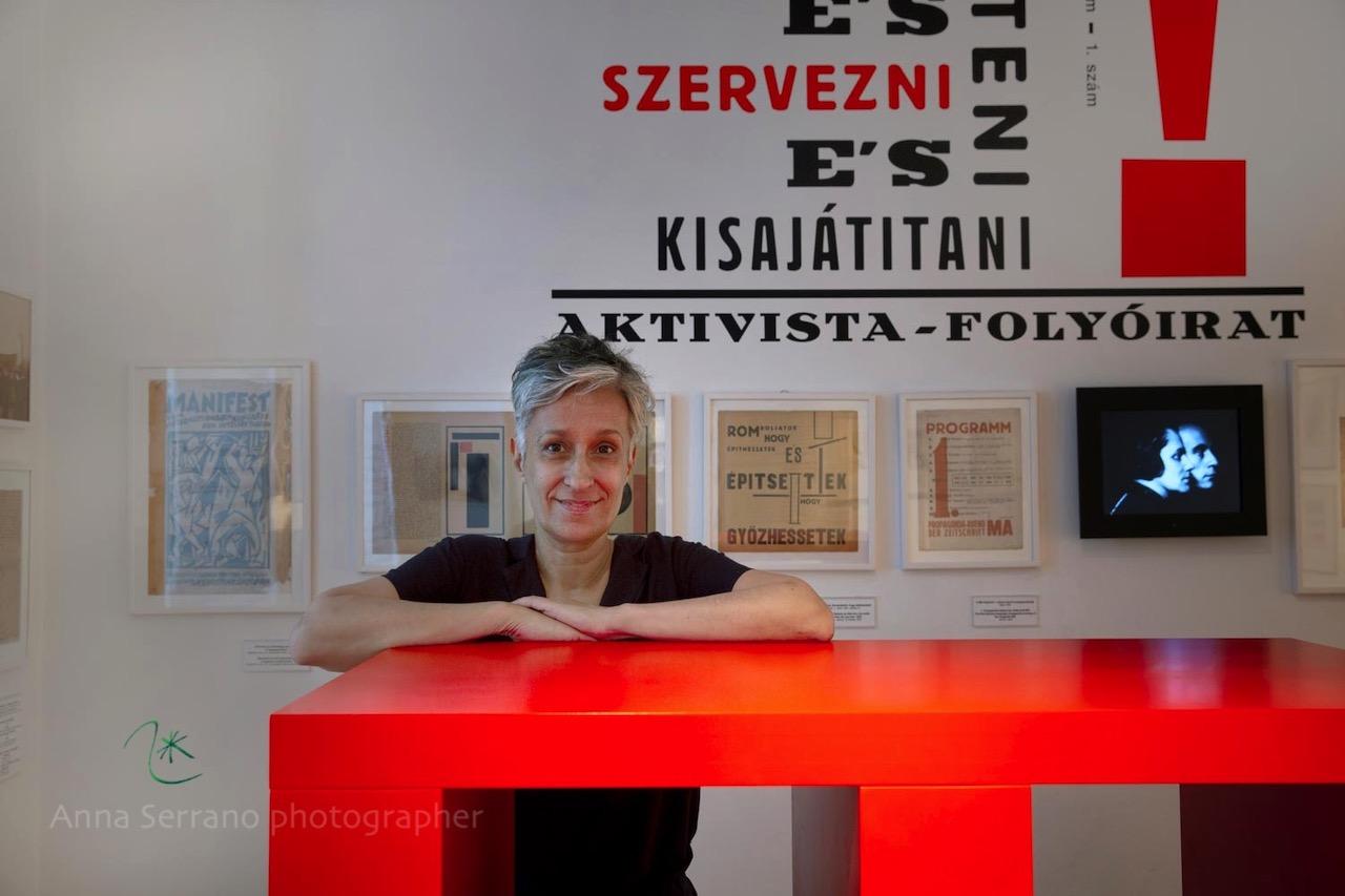 Edit Sasvári, Kassák Museum director, Budapest