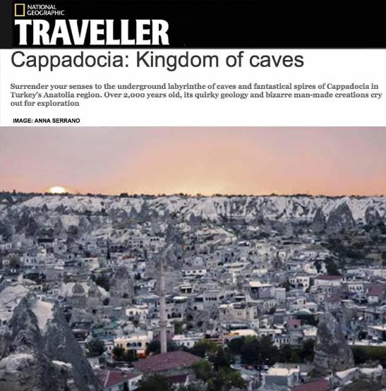 National Geographic - UK - Cappadocia