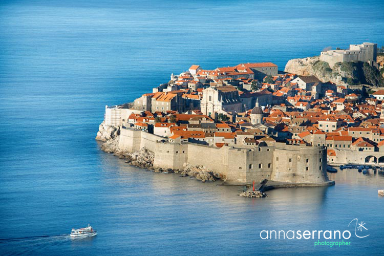 Croatia, Dalmatia, Dubrovnik, listed as World Heritage by the UNESCO