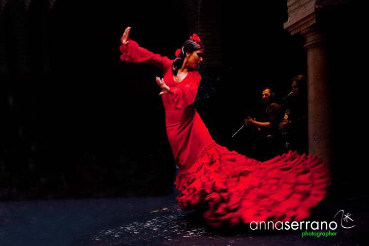 Spain, Andalusia, Sevilla, Flamenco show at Museo del Flamenco