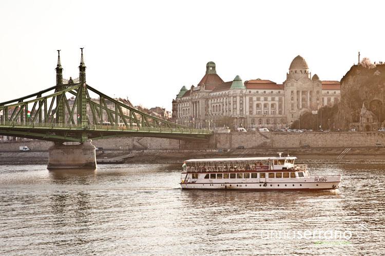 Hungary, Budapest, Freedom Bridge
