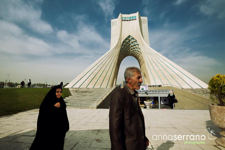 Iran, Middle East, Tehran, Azadi Tower