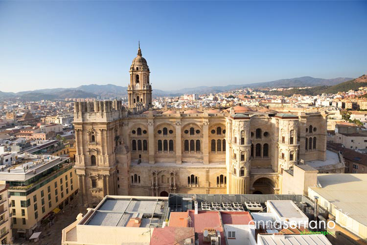 Spain, Andalusia, Málaga, the Cathedral