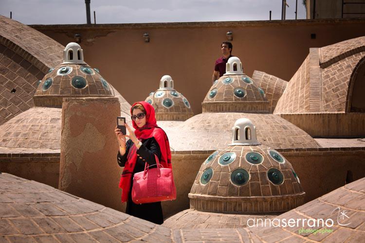 Iran, Isfahan Province, Kashan, Sultan Amir Ahmad Bathhouse Hammam
