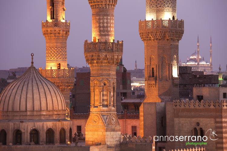 Africa, Middle East, Egypt, Cairo, al-Qahira, Islamic Cairo, Al-Azahar mosque
