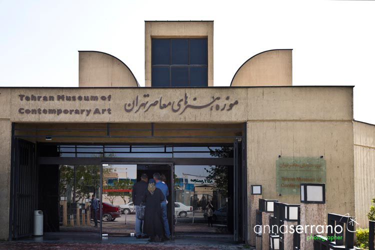 Iran, Middle East, Tehran, Contemporary Art Museum of Tehran